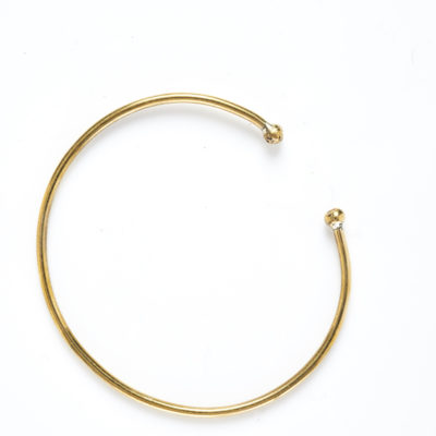 DIDI BRONZE BALL WIRE BRACELET (Alone)