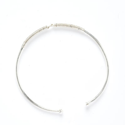DIDI T SILVER BALL WIRE BRACELET (Alone)