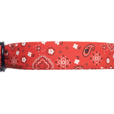 RED BANDANA INDIANA BELT
