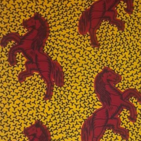 Wax cheval jaune