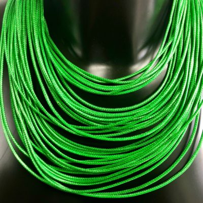 LACES Green necklace